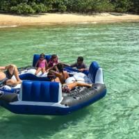 Inflatable jacuzzi