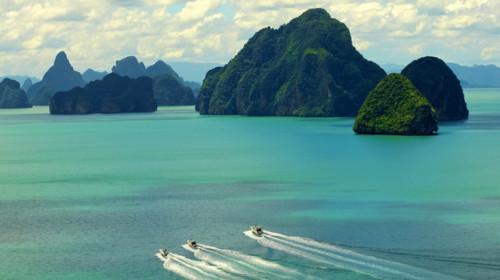аренда яхты в залив пханг нга
