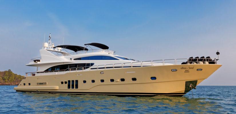 Яхта класса люкс на Пхукете: Bilgin T100