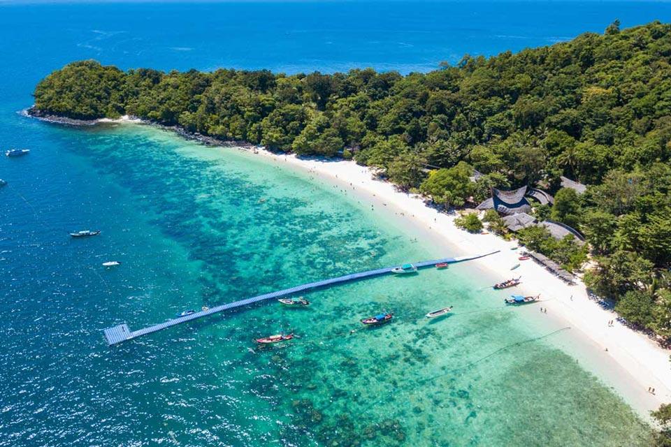 Коралловый Остров - лучшее место для экскурсии на яхте с Пхукета