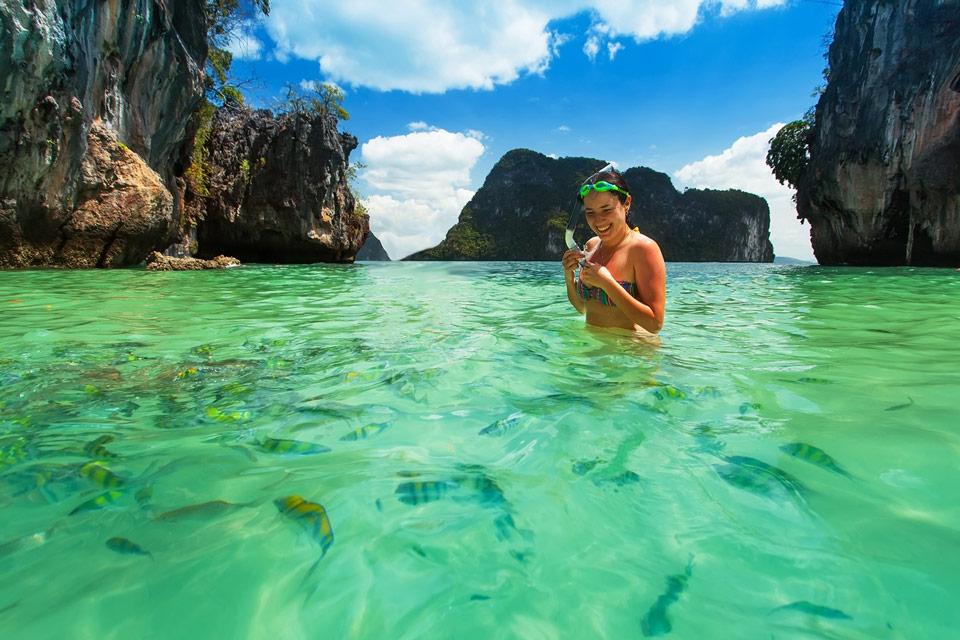 острова Хонг в Краби - лучшее место для экскурсии на яхте с Пхукета