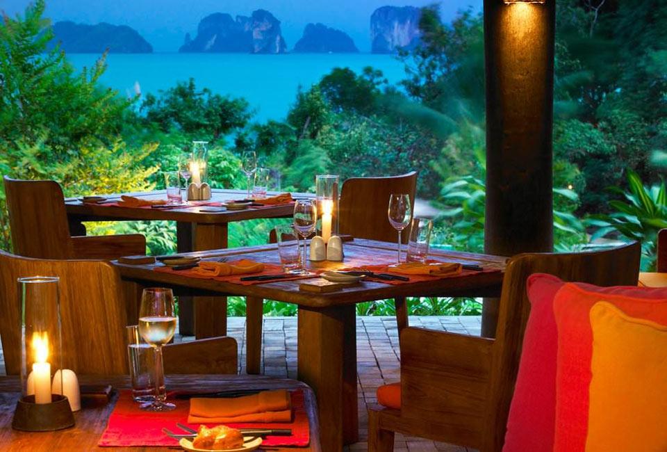 лучшие рестораны залива Пханг Нга