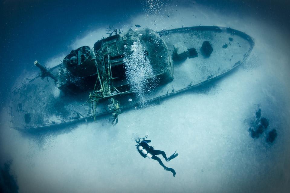 виды дайвинга: дайвинг на затонувшие объекты