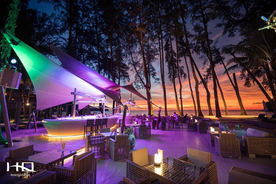 HQ Beach Lounge: лучшие пляжные рестораны Пхукета
